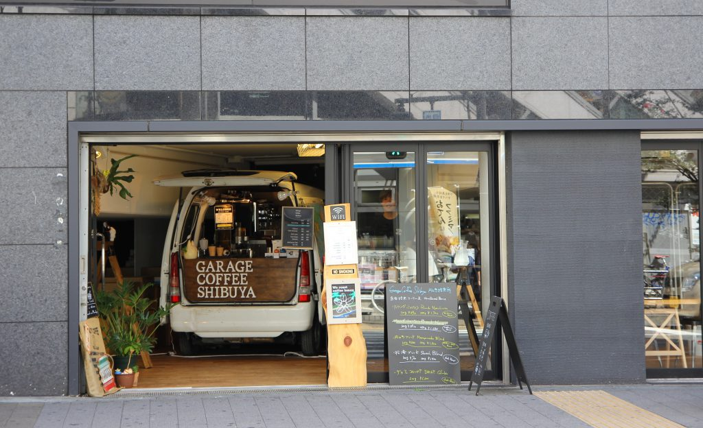 Garage Coffee Shibuya