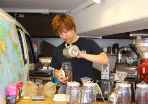 garagecoffeeshibuya山下さん